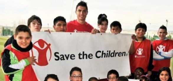 Cristiano Ronaldo, ambasador Save The Children