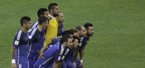 Equipo argentino que disputó la final del mundial