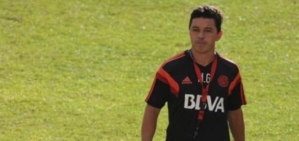 Gallardo quiere continuar prendido en la Copa