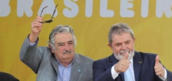 Lula e Mujica sempre mantiveram bom relacionamento