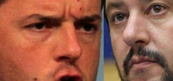 Elezioni, Salvini sfida Renzi: Lega contro PD