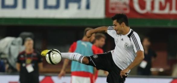 Ilkay Gundogan con Alemania
