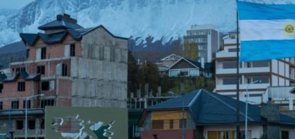 Monumento a las Malvinas en Ushuaia