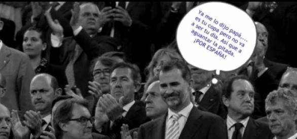 """""""Todo por España"""" dijo el Rey"""