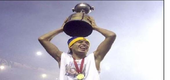 Riquelme campeón de la Libertadores de América