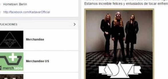 Kadavar visitará México con su tercer disco Berlín
