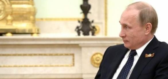 Putin zachowuje świetne samopoczucie.