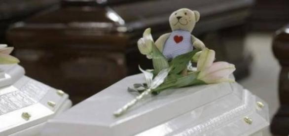 S-au găsit rămășițele unui copil de opt luni