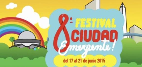 """Festival """"Ciudad Emergente""""  del 17 al 21 de junio"""