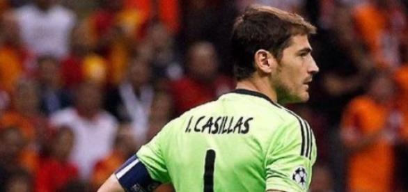 Iker Casillas tras una pitada en el Bernabéu