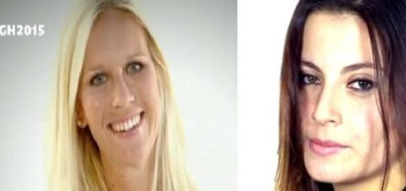 Las dos candidatas: Belén y Ángela