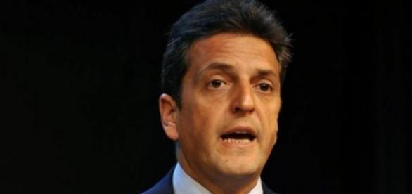 Sergio Massa, precandidato por el Frente Renovador
