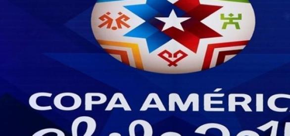 Slogan da Copa América de 2015.