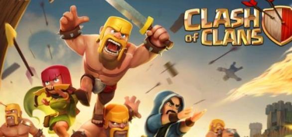 So sieht der Ladebildschirm von Clash of Clans aus