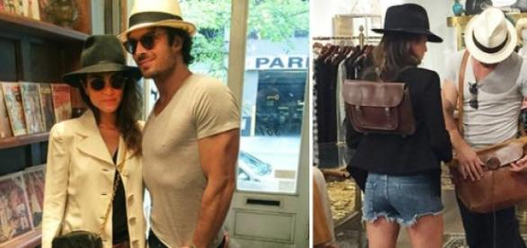 Ian Somerhalder e Nikki Reed (Fotos: People)