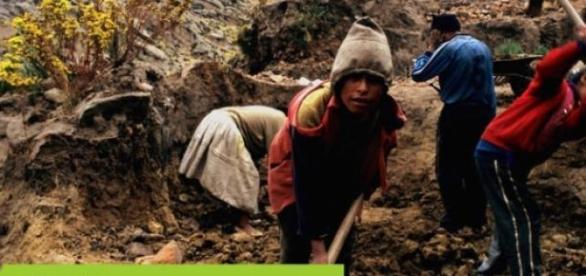 Los niños que trabajan son 168 millones.