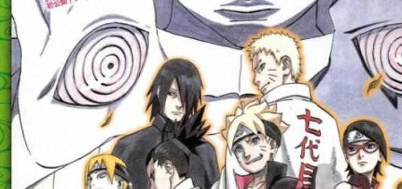 Poster promocional de Baruto -Naruto The Movie-