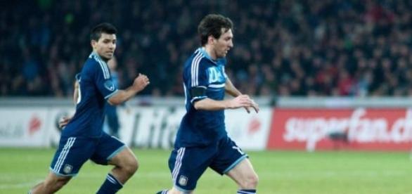 A Argentina de Lionel Messi entra hoje em ação