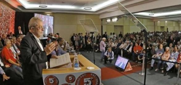 Discurso de Lula teve ótimo público no Congresso