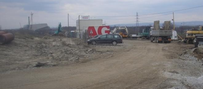Fragment odcinka budowy nowej części trasy S7 w rejonie skrzyżowania ulic Igołomskiej i Kepskiej.