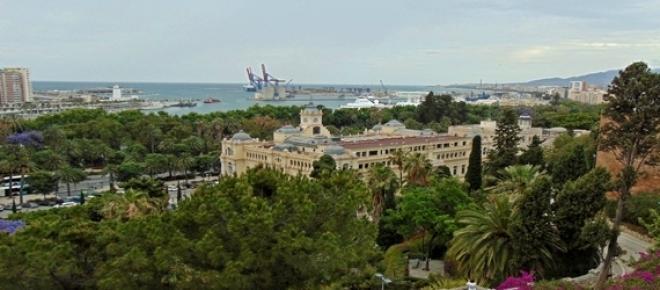 Malaga, widok na port.. fot.J.Lampert
