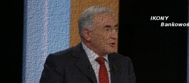 Strauss-Kahn, były szef MFW
