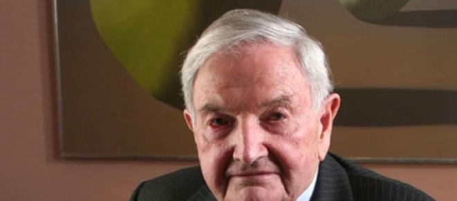 Super masonul David Rockefeller