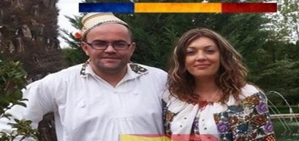 Agustin şi iubita lui româncă, în prag de emoţii