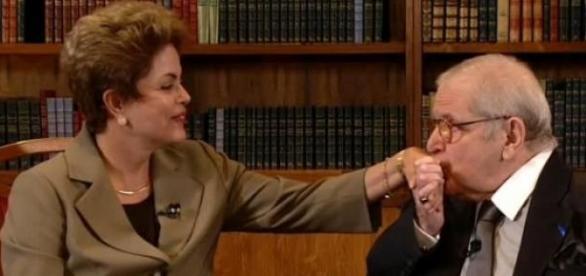 Dilma é entrevistada por Jô Soares