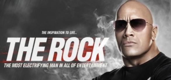Dwayne Johnson conhecido por 'The Rock'