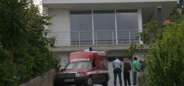 Bombeiros de Vila Verde removeram cadáver.