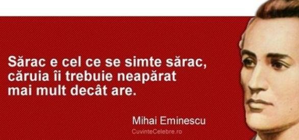 Citat al lui Mihai Eminescu