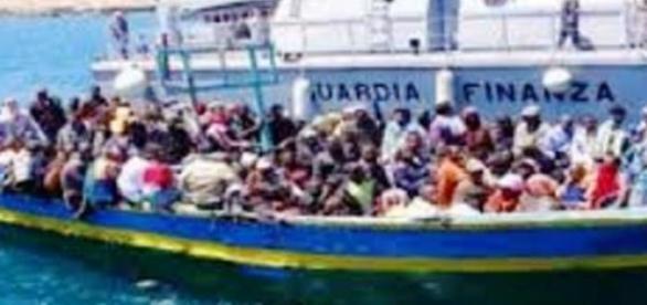 emigracja z Afryki do Francji i Włoch