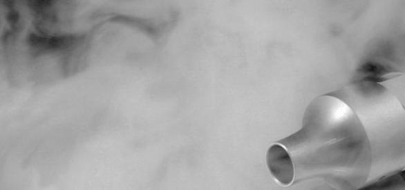 Inhalador de un cigarro electónico
