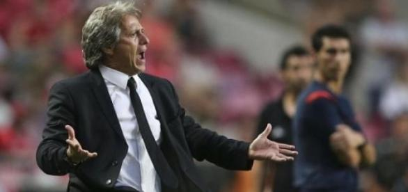 Jorge Jesus, actual treinador do Sporting.