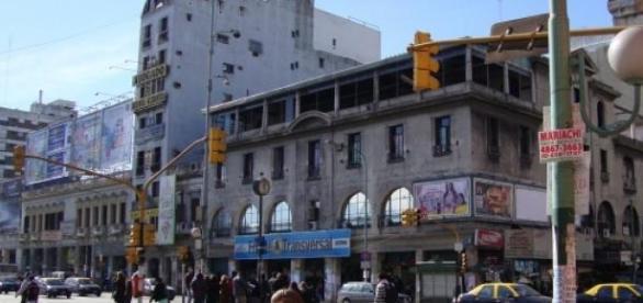 Pueyrredón y Rivadavia, a pocas cuadras del lugar
