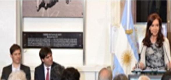 Cristina Fernández, Presidente de Argentina