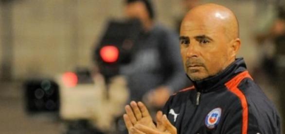 El argentino Jorge Sampaoli es el técnico de Chile