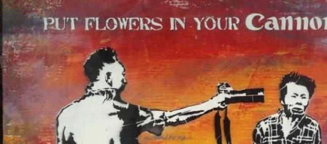 Put Flowers in Your Cannon, by Mr Save the Wall