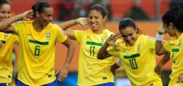 As brasileiras jogam já classificadas