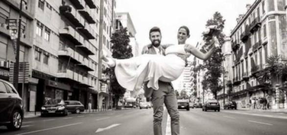 Daniela Pimenta casou-se pelo civil