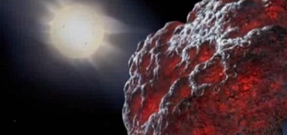 El asteroide Ícaro en todo su esplendor