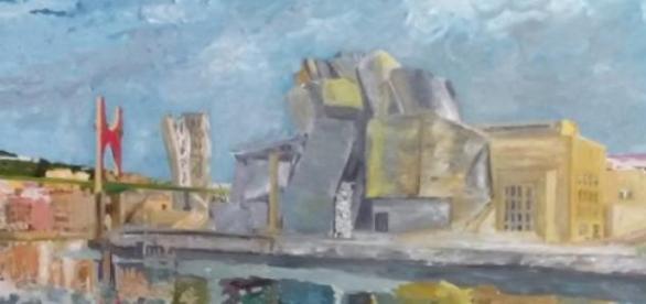 El  Guggenheim es una inspiración para artistas