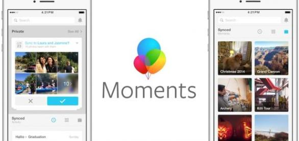 Facebook Moments, la nueva 'app' de Facebook