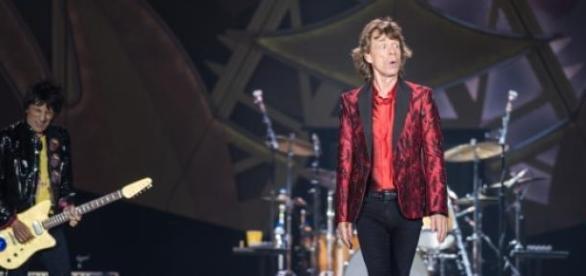Os Rolling Stones em ação: no Brasil, em novembro
