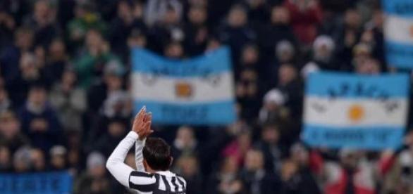 Tévez, ovacionado en Torino. Ph: Juventus Oficial