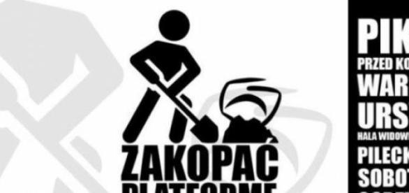 Zakopać Platformę (foto Facebook events)