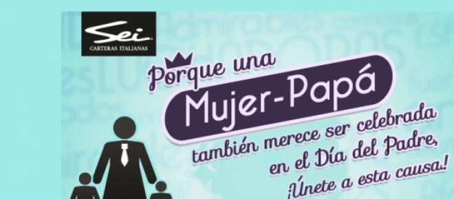 En el mes del padre: #MujerPapá