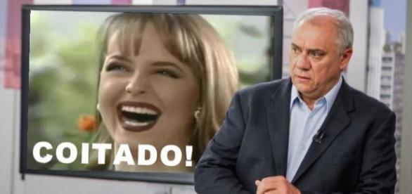Usurpadora dá surra em Marcelo Rezende