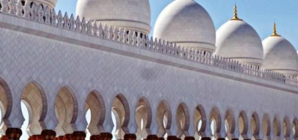 Vista del exterior de la mezquita